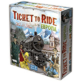 Билет на поезд: Европа (Ticket to Ride: Europe) (рус)